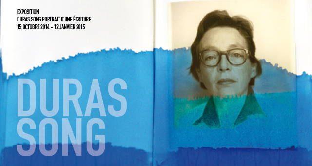 Affiche exposition Duras