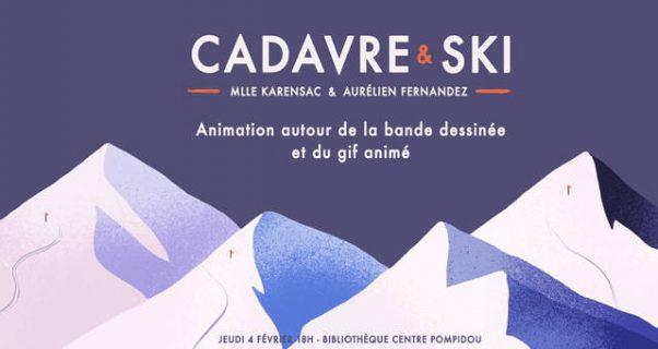 """Image avec Gif animé de l'atelier """"cadavre et ski"""""""