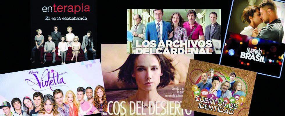 Montage TV séries telenovelas