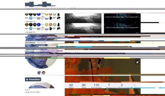 Composition de captures d'écran du vimeo de Julien Toulze, Julien Toulze, 2016