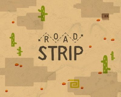 dessin numérique pour l'atelier Road Strip