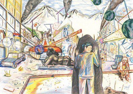 Couverture La structure est pourrie, camarade ! de Viken Berberian et Yann Kebbi