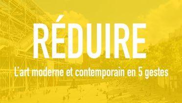 image du Mooc du Centre Pompidou : réduire