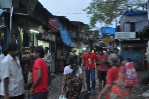 Marché en Inde