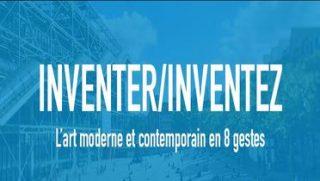 Visuel du Mooc du Centre Pompidou : inventer