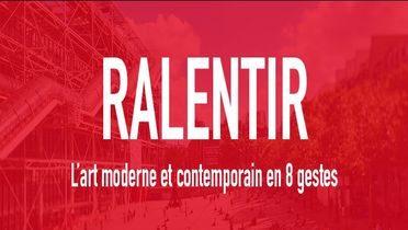Visuel du Mooc du Centre Pompidou : ralentir