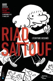 Autoportrait dessinée du jeune Riad Sattouf