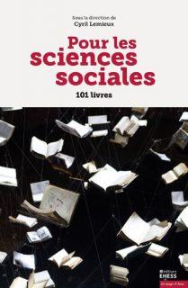 Couverture du livre Pour les sciences sociales.101 livres des éditions EHESS
