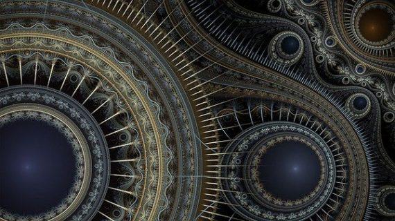 Représentation artistique d'un fractal