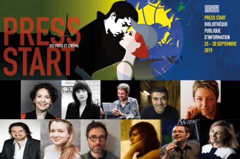Affiche du festival et portraits des intervenants