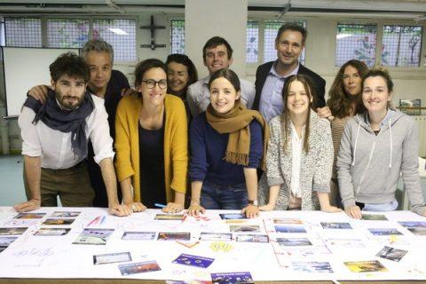 Participants à l'atelier La fresque du climat