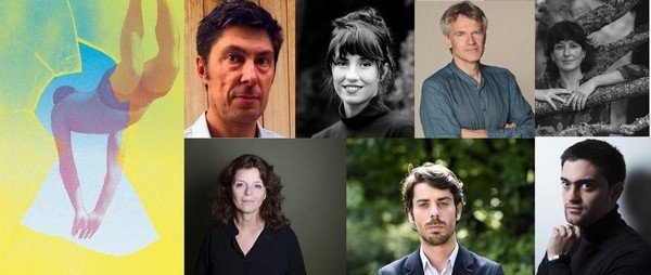 Visuel du festival Effractions et portraits des auteurs