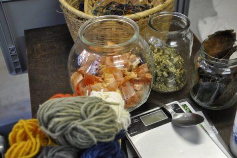 Éléments utilisés pour la teinture végétale