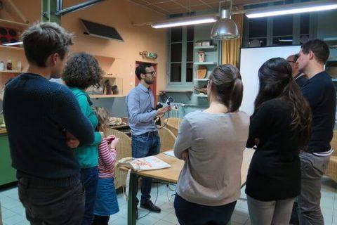 Participants à l'atelier éco-gestes