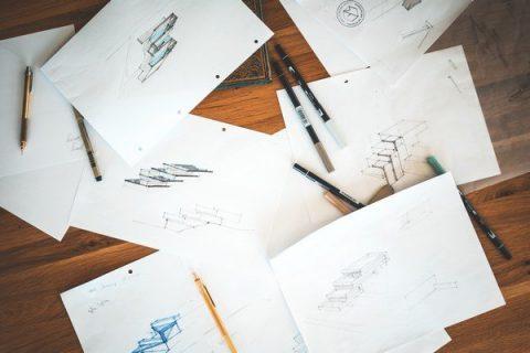 Feuilles de dessin