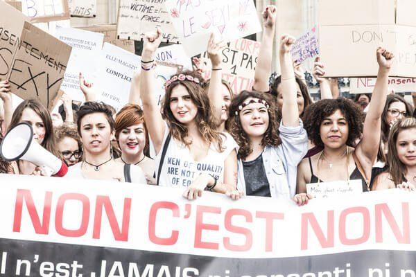 Photo de la Marche des salopes à Paris de 2013