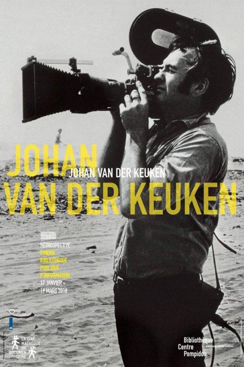 Affiche de la rétrospective Johan Van Der Keuken
