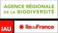 Logo de l'agence régionale de la biodiversité et de l'institut d'aménagement et d'urbanisme en Ile-de-France
