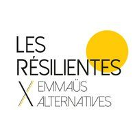 Logo Les Résilientes X Emmaüs Alternatives