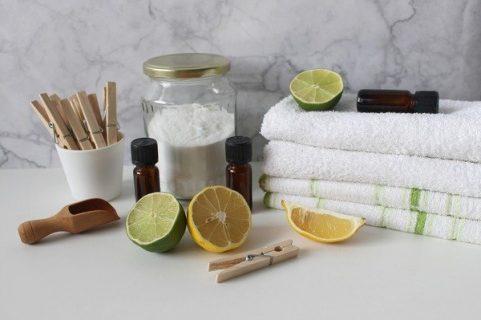 Ingrédients pour fabriquer des produits ménagers