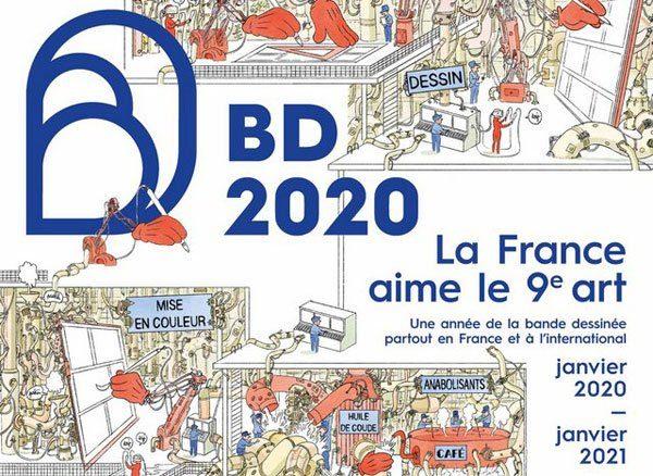 affiche année de la BD 2020