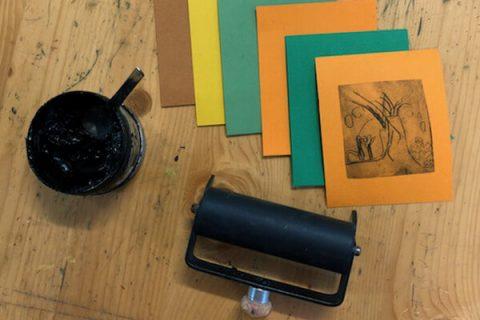 matériel de gravure