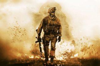 Soldat extrait du jeu Call of Duty