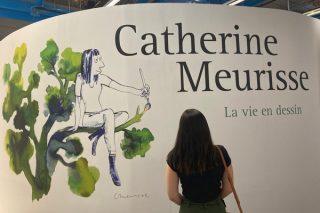 photo prise dans l'exposition Catherine Meurisse