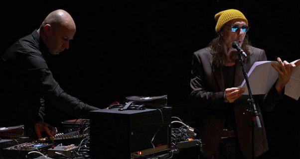 Da Silva et Franck Vigroux sur scène