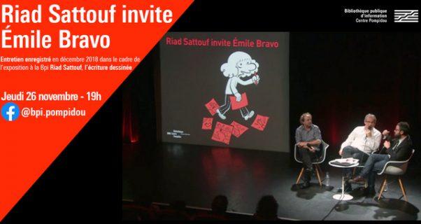 Riad Sattouf invite Emile Bravo