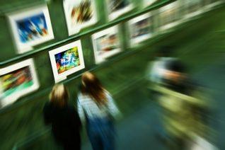 Visite d'une exposition