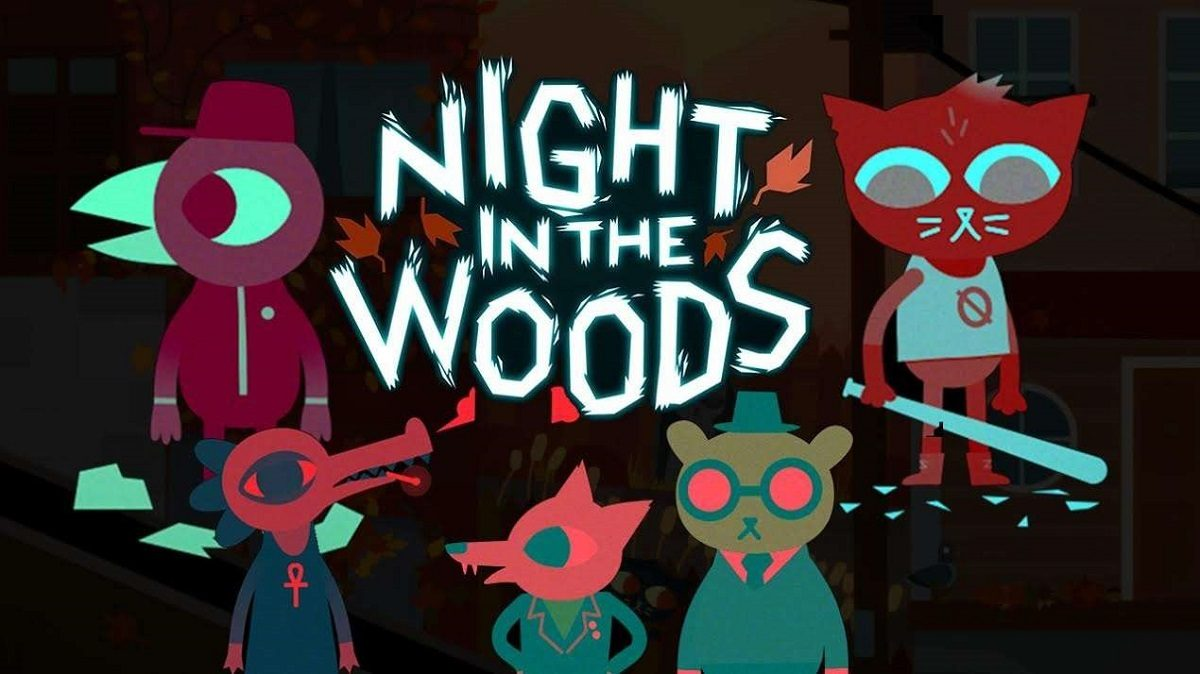 personnages du jeu Night in the woods