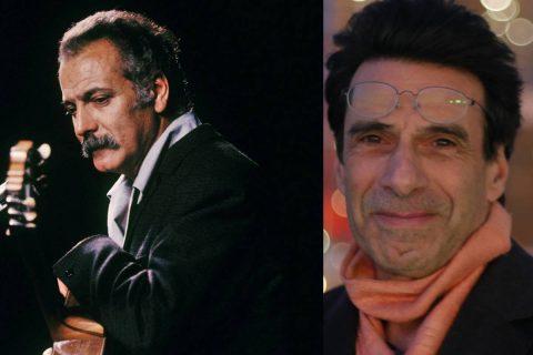 Portrait de Georges Brassens et Michel Arbatz